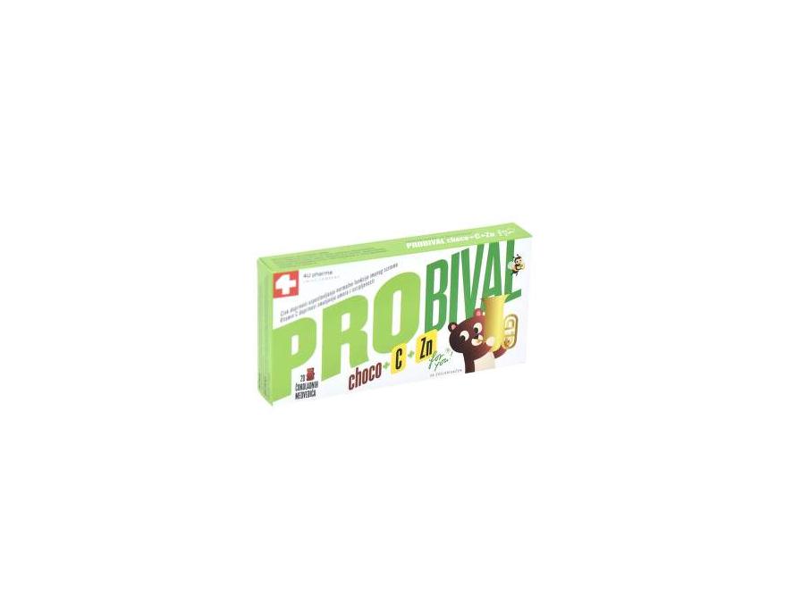 Probival choco + vitamin C + cink 20 medvedića