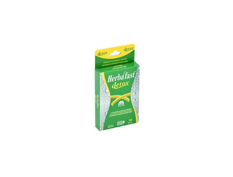 Herbafast® Detox, 10 kapsula