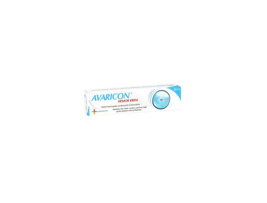Avaricon hemor krem 20 ml