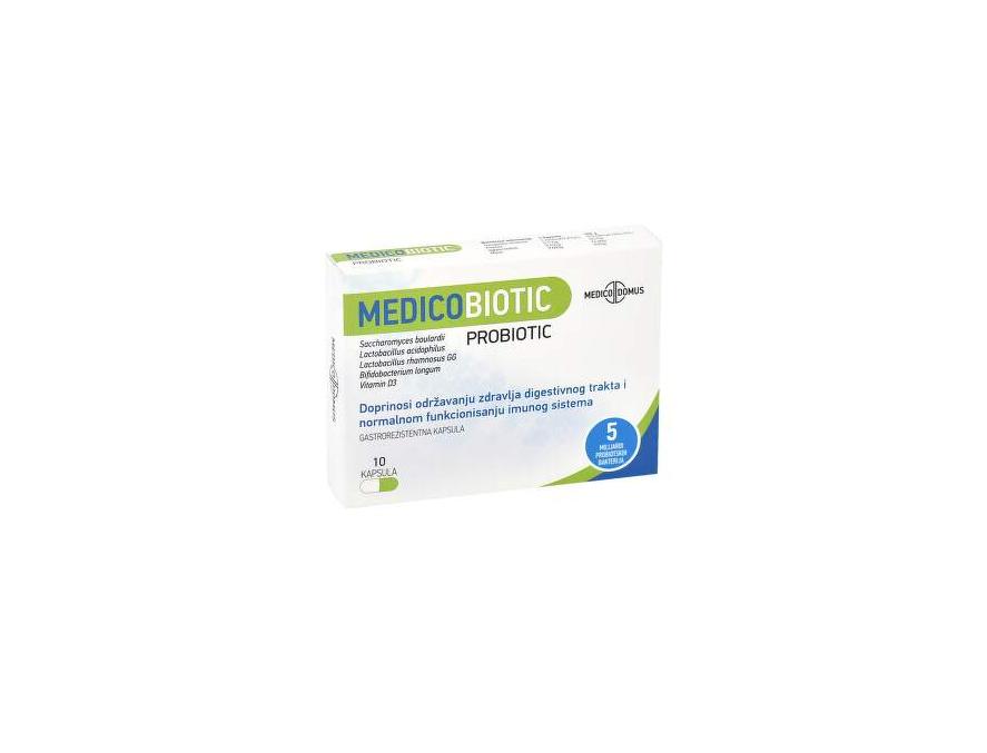 Medicobiotic 500 mg 10 kapsula