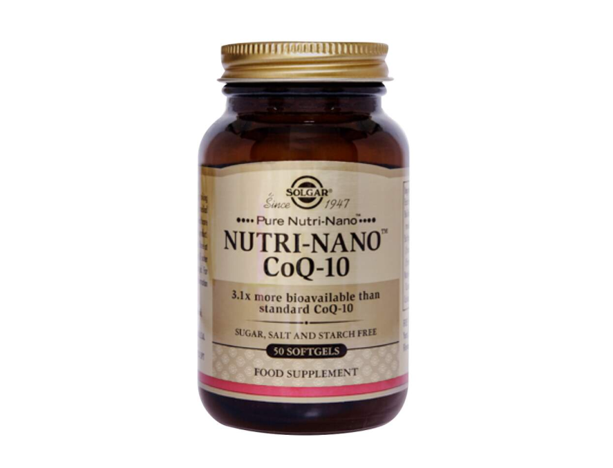 Solgar Nutri-nano Co-Q10 50 gel kapsule