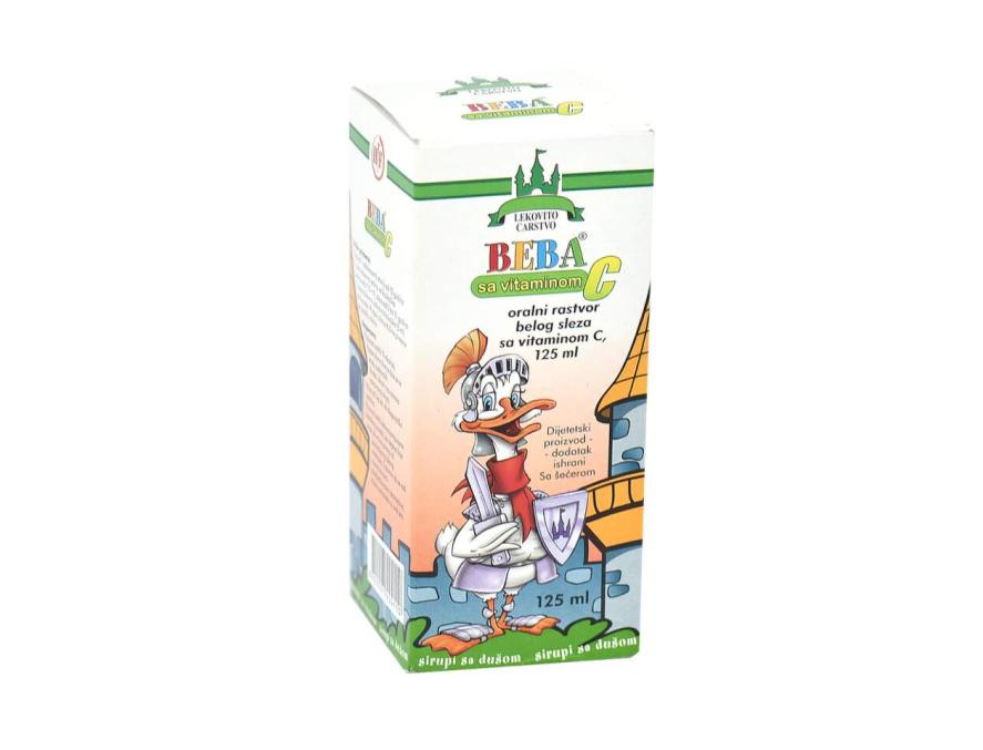 Beba-C beli slez sirup 125 ml