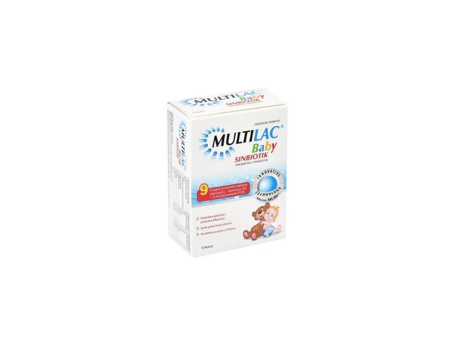 Multilac baby prašak 10 kesica