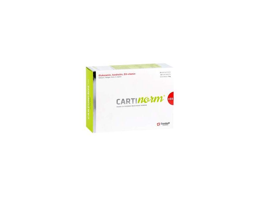 Cartinorm + D3 60 film tableta