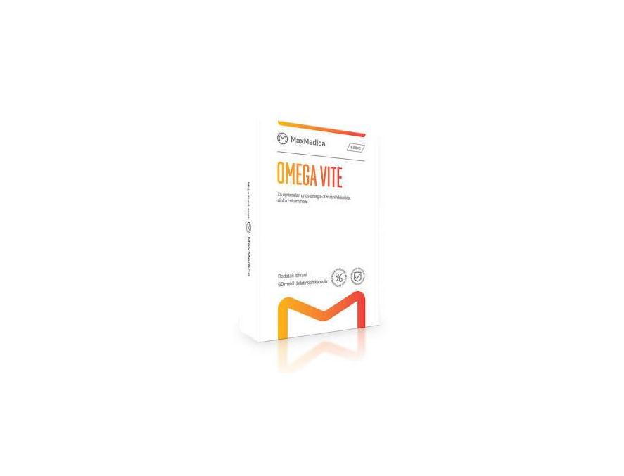 MaxMedica Omega Vite kapsule