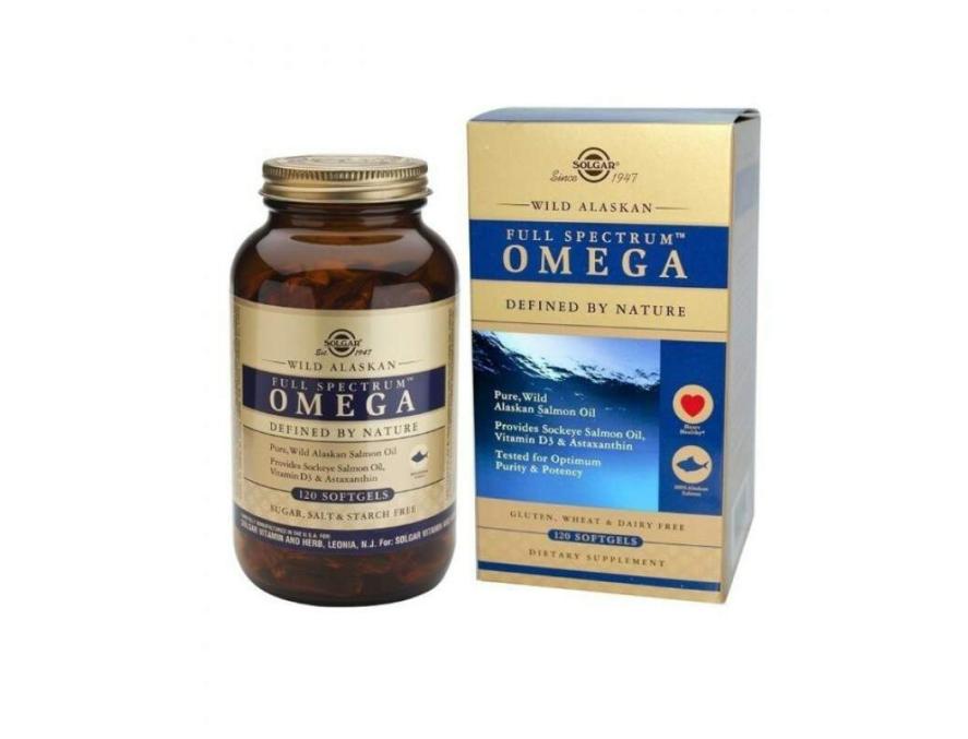 Solgar Wild Alaskan Omega 120 kapsula
