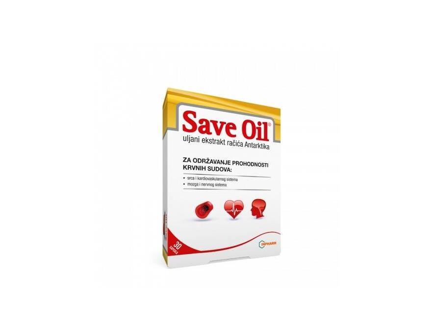 Save oil 500 mg 30 kapsula