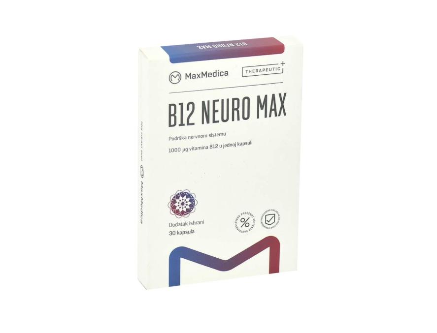MaxMedica B12 Neuro Max 30 kapsula