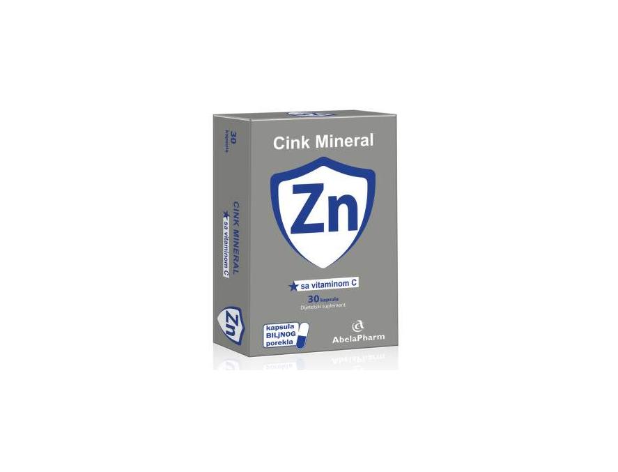 Cink Mineral Zn sa vitaminom C 30 kapsula