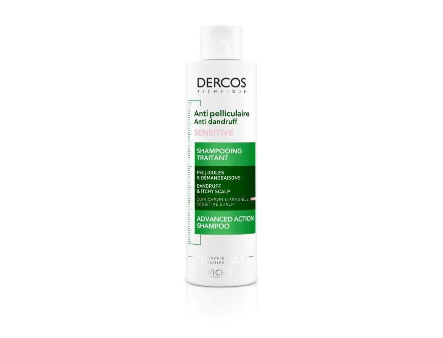 Vichy Dercos šampon protiv peruti za osetljivu kožu skalpa bez sulfata 200 ml
