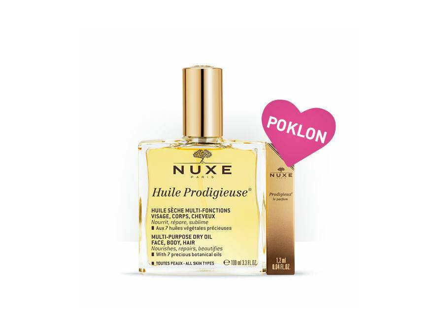 Nuxe čarobno suvo ulje 100 ml+Prodiguense parfem 1,2 ml gratis